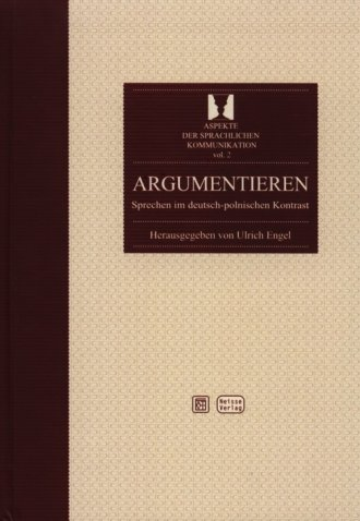 Argumentieren. Sprechen im deutsch-polnischen - okładka książki