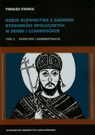 Dzieje słownictwa z zakresu stosunków - okładka książki