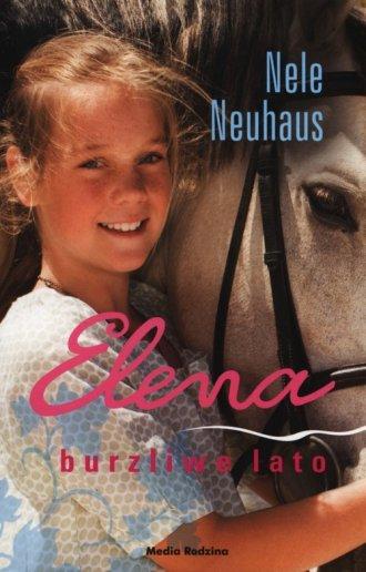 Elena. Burzliwe lato - okładka książki