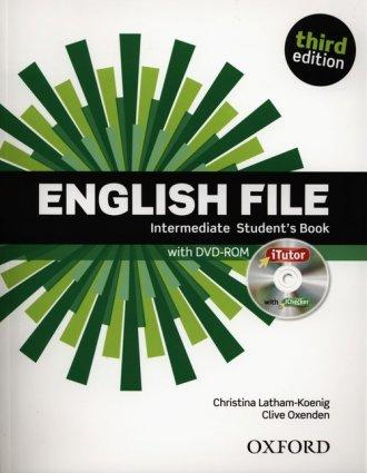 English File. Intermediate Students - okładka podręcznika