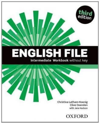 English File. Intermediate Workbook - okładka podręcznika