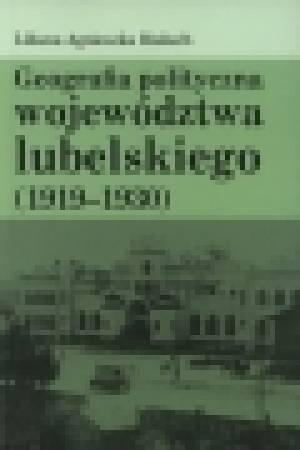 Geografia polityczna województwa - okładka książki