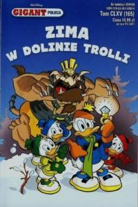Gigant 12014. Zima w Dolinie Trolli - okładka książki