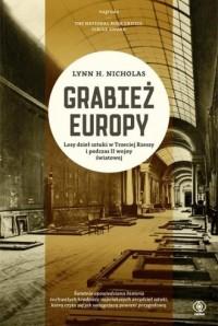 Grabież Europy - Lynn H. Nicholas - okładka książki
