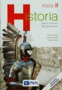 Historia. Klasa 2. Gimnazjum. Zeszyt - okładka podręcznika