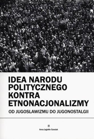 Idea narodu politycznego kontra - okładka książki