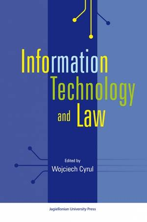 Information Technology and Law - okładka książki