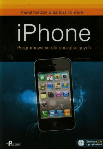 iPhone. Programowanie dla początkujących - okładka książki
