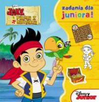 Jake i piraci z Nibylandii. Zadania - okładka książki