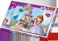 Jej Wysokość Zosia (puzzle 100-elem.) - zdjęcie zabawki, gry