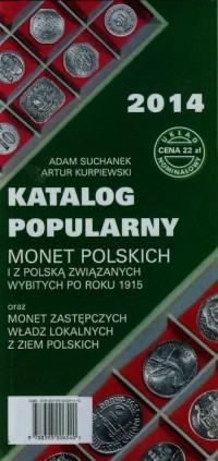 Katalog popularny monet polskich - okładka książki