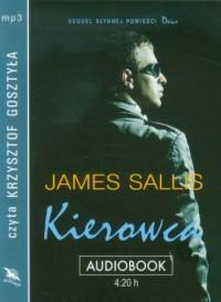 Kierowca (CD mp3) - James Sallis - pudełko audiobooku