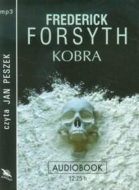 Kobra (CD mp3) - Frederick Forsyth - pudełko audiobooku