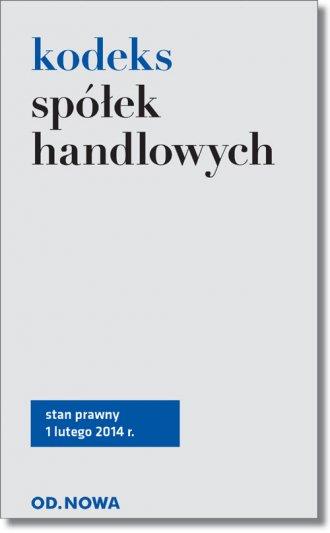 Kodeks spółek handlowych - okładka książki
