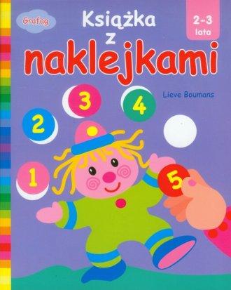 Książka z naklejkami (2-3 lata) - okładka książki