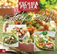 Kuchnia polska. Sałaty i sałatki - okładka książki