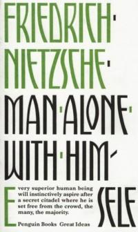 Man Alone with Himself - okładka książki
