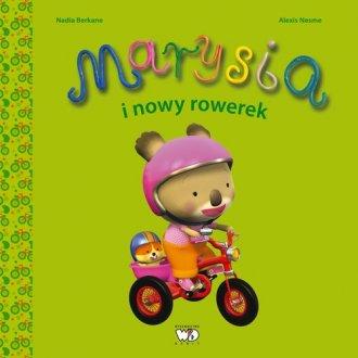 Marysia i nowy rowerek - okładka książki