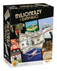 Milionerzy i bankruci. Gra planszowa - zdjęcie zabawki, gry