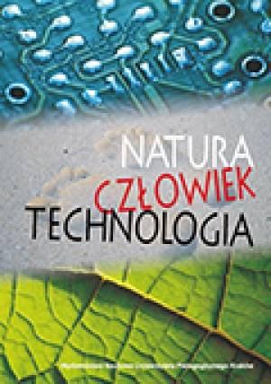 Natura - człowiek - technologia - okładka książki