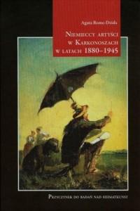 Niemieccy artyści w Karkonoszach - okładka książki