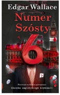 Numer Szósty - okładka książki