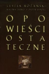 Opowieści ostateczne (+ CD) - Leszek - okładka książki