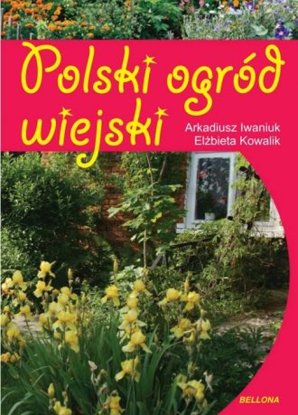Polski ogród wiejski - okładka książki