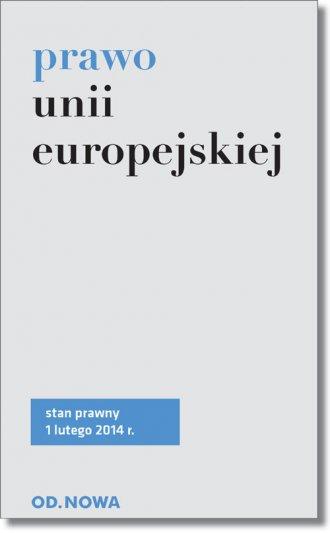 Prawo Unii Europejskiej - okładka książki