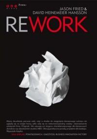 Rework - okładka książki
