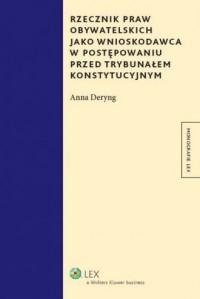 Rzecznik praw obywatelskich jako - okładka książki