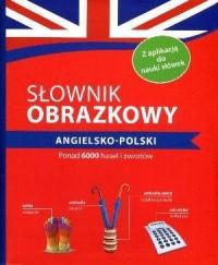 Słownik obrazkowy angielsko-polski - okładka książki