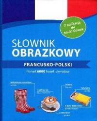 Słownik obrazkowy francusko-polski - okładka książki