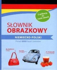 Słownik obrazkowy niemiecko-polski - okładka książki