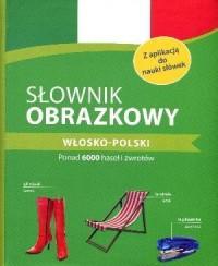 Słownik obrazkowy włosko-polski - okładka książki