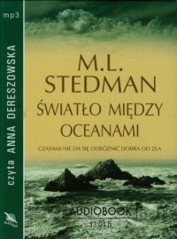 Światło między oceanami (CD mp3) - pudełko audiobooku