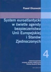 System euroatlantycki w świetle - okładka książki