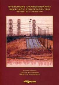 Systemowe uwarunkowania sektorów strategicznych. Wnioski dla energetyki - okładka książki