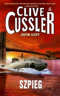 Szpieg - Clive Cussler - okładka książki