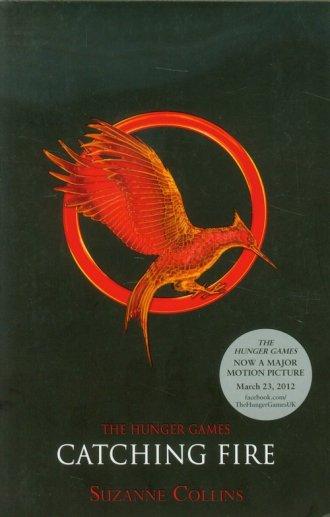 The Hunger Games 2. Catching Fire - okładka książki