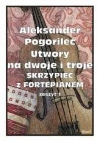 Utwory na dwoje i troje Skrzypiec - okładka książki