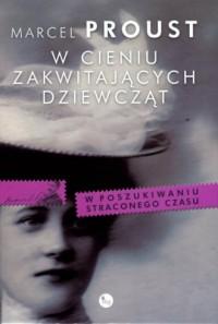 W cieniu zakwitających dziewcząt - okładka książki