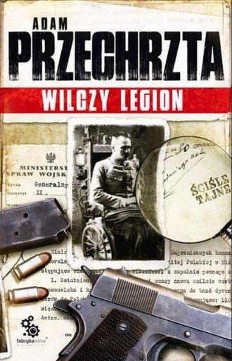 Wilczy Legion - okładka książki
