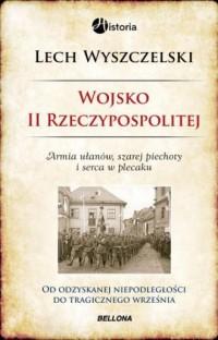 Wojsko II Rzeczypospolitej - okładka książki