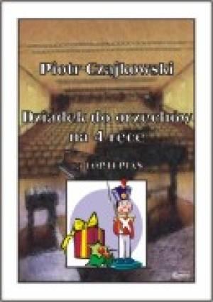Dziadek do orzechów (na 4 ręce - okładka książki