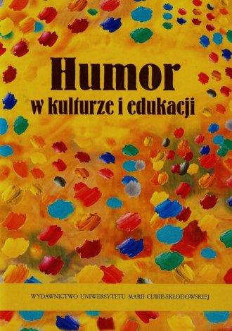 Humor w kulturze i edukacji - okładka książki