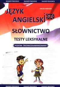 Język angielski. Słownictwo. Testy leksykalne. Poziom średniozaawansowany - okładka podręcznika