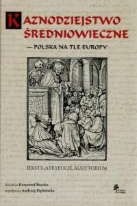 Kaznodziejstwo średniowieczne - - okładka książki
