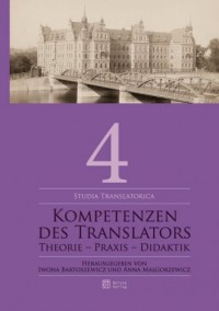 Kompetenzen des Translators. Theorie - okładka podręcznika