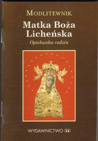 Modlitewnik. Matka Boża Licheńska - okładka książki